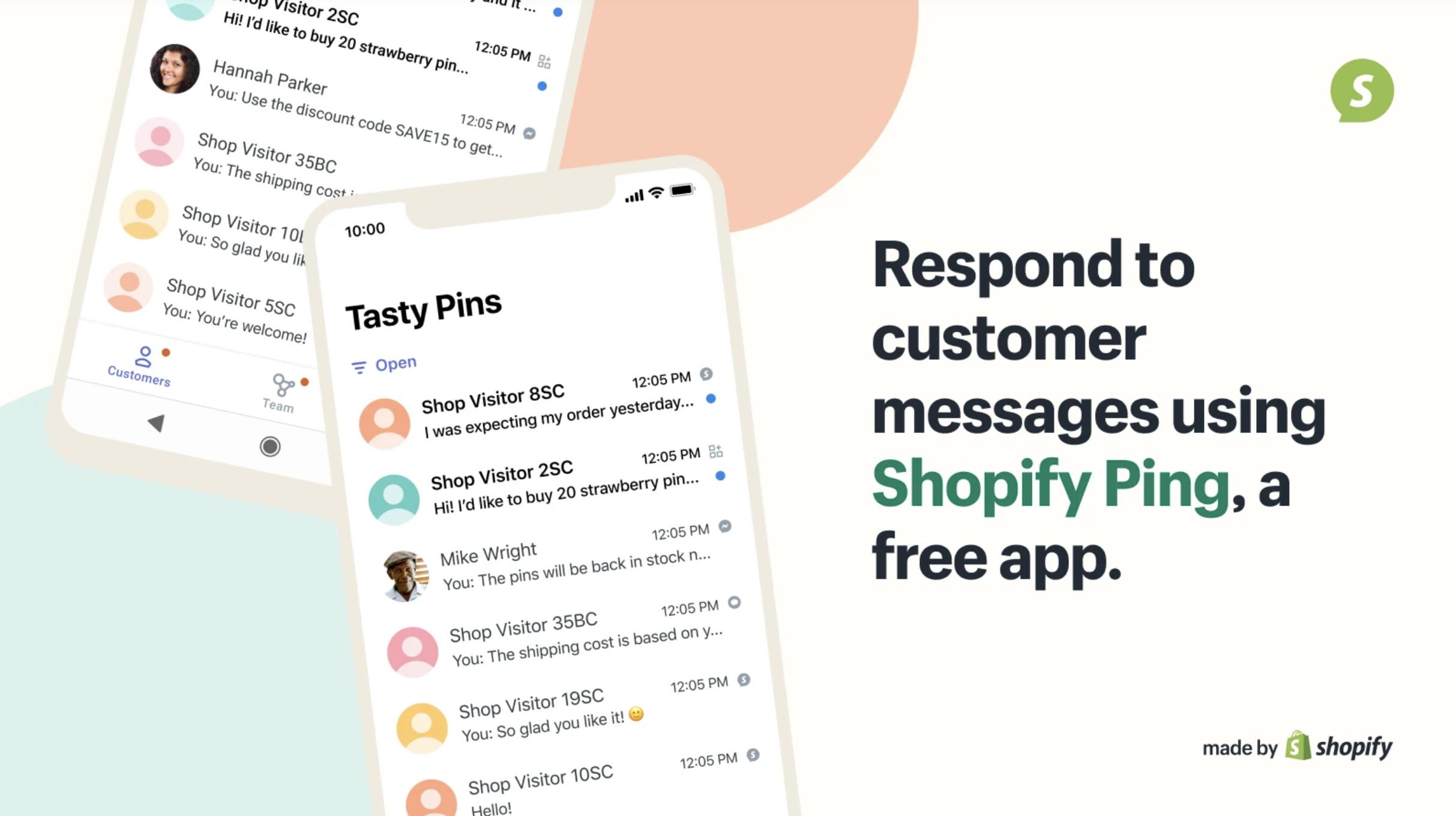 Shopify Ping