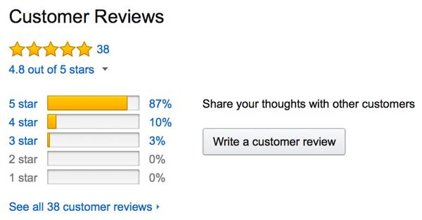 Amazon kundeanmeldelser
