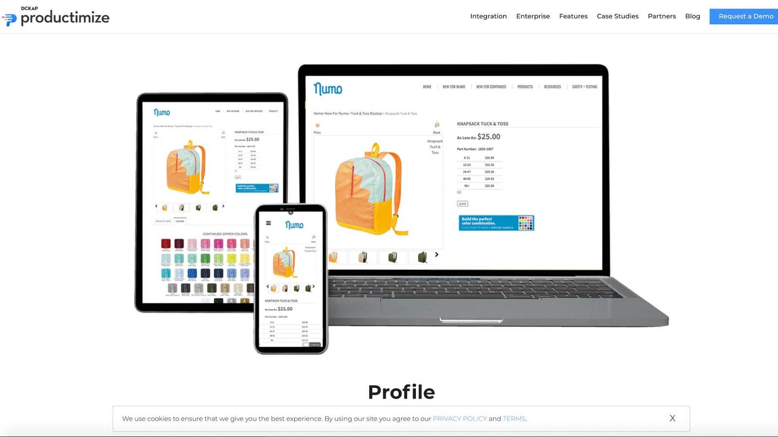 Productimize i Shopify